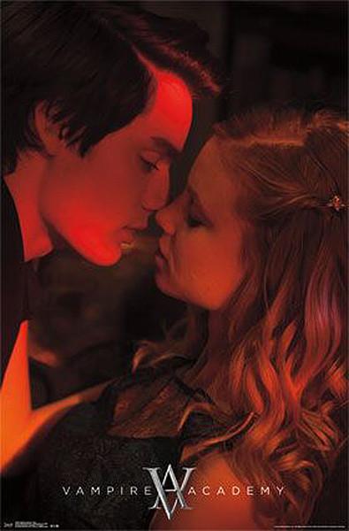 Plakat AKADEMIA WAMPIRÓW - pocałunek