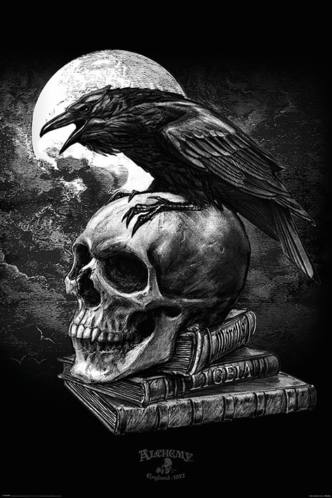 Plakát  Alchemy - Poe's Raven
