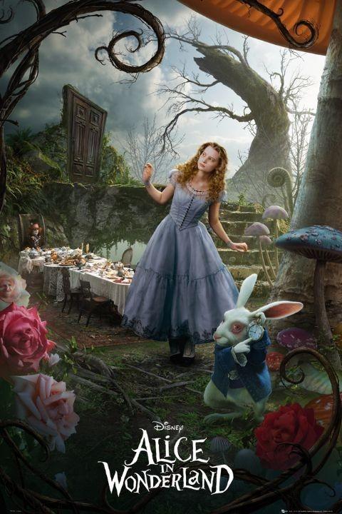 Plakát Alenka v říši divů - alice