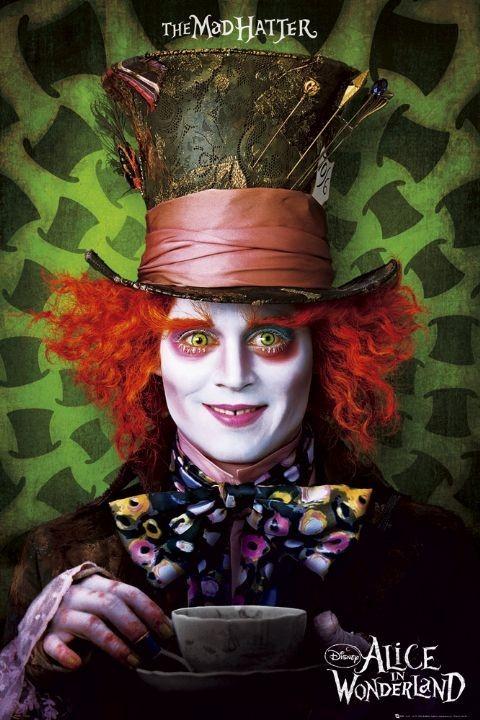 Plakat Alice in wonderland - mad hatter
