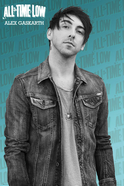 Plakat All Time Low - Alex solo