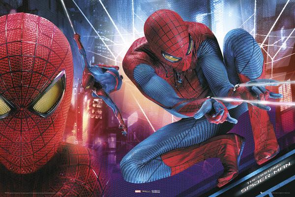 Plakát AMAZING SPIDER-MAN - action