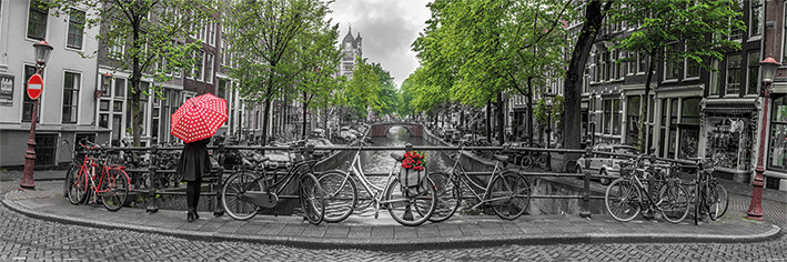 Plakát Amsterdam