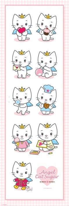 Plakát ANGEL CAT SUGAR - multi