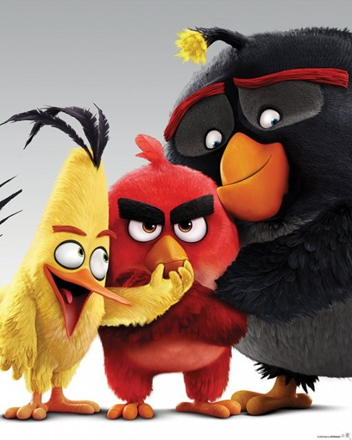 Plakat Angry Birds - Characters