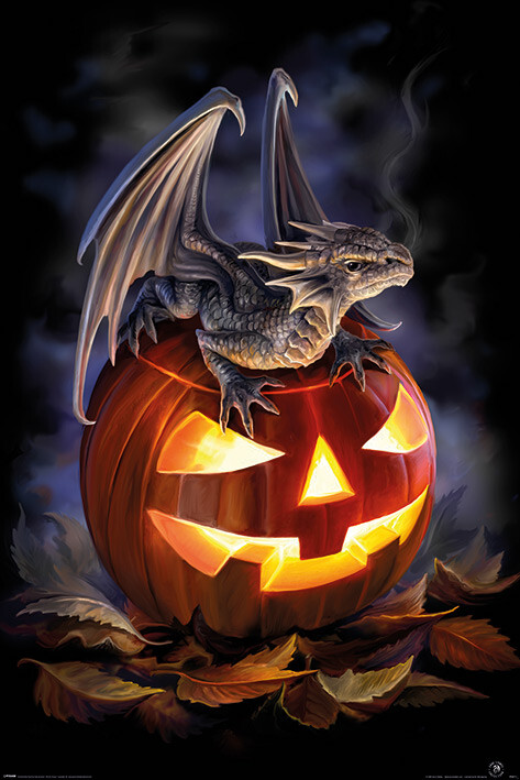 Plakat Anne Stokes - Trick or Treat