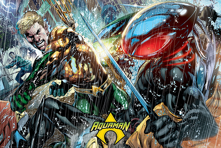Plakát Aquaman - Atlantean Punch
