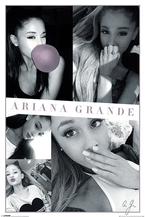 Plakat Ariana Grande - Selfies