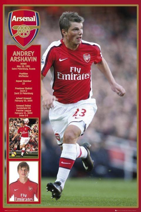 Plakát Arsenal - arshavin 09/10