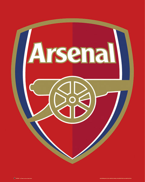 Plakát Arsenal FC - Club crest