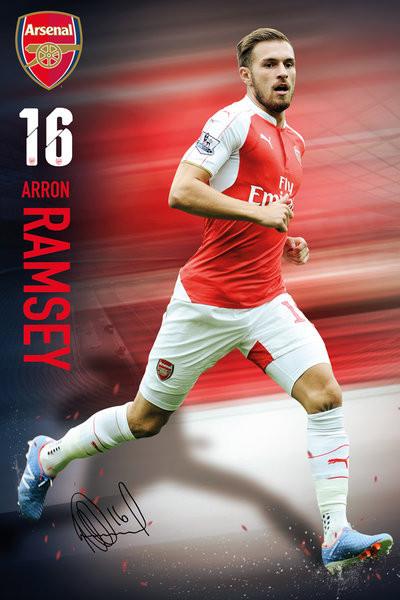 Plakat Arsenal FC - Ramsey 15/16