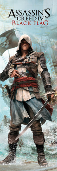 Plakát Assassin's Creed 4 - black flag