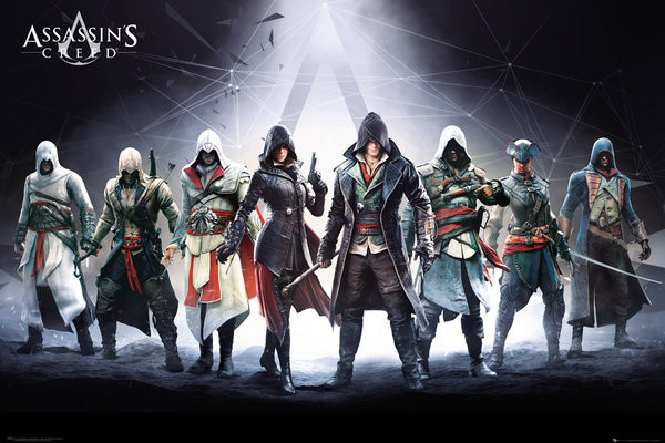 Plakát Assassin's Creed - Characters