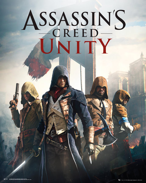 Plakát Assassin's Creed Unity - Cover