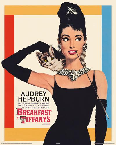Plakat Obraz Audrey Hepburn Breakfast At Tiffanys Kup Na Posterspl