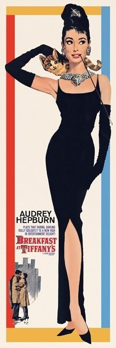 Plakat AUDREY HEPBURN - breakfast at tiffany's