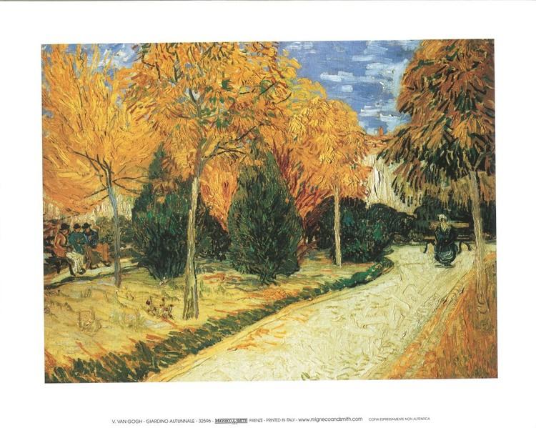 Reprodukcja Autumn Garden