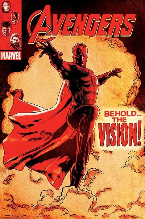 Plakát Avengers: Age Of Ultron - Behold The Vision