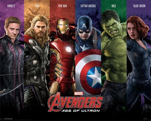 Plakat Avengers: Czas Ultrona - Team