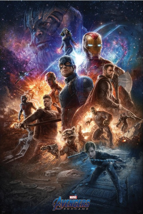 Plakat Obraz Avengers Endgame From The Ashes Kup Na Posterspl