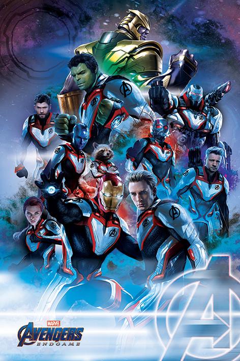 Plakát  Avengers: Endgame - Suits