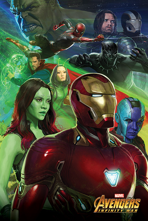 Plakat Obraz Avengers Infinity War Iron Man Kup Na Posterspl