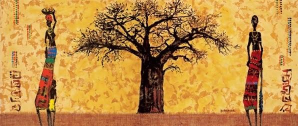 Reprodukcja Baobab