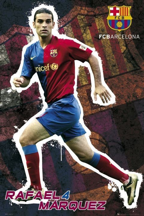 Plakat Barcelona - marquez 08/09