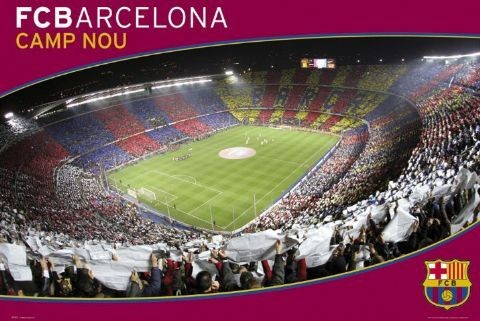 Plakát Barcelona - nou camp