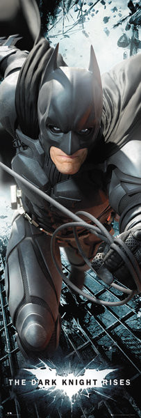 Plakat BATMAN DARK KNIGHT RISES - solo