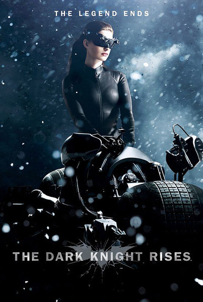 Plakát BATMAN: The Dark Knight Rises - Temný rytíř povstal - Catwoman