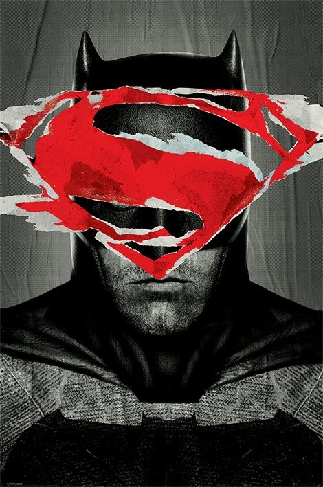 Plakat Batman vs. Superman - Batman Teaser