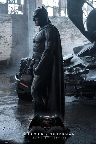 Plakát Batman vs. Superman: Úsvit spravedlnosti - Batman