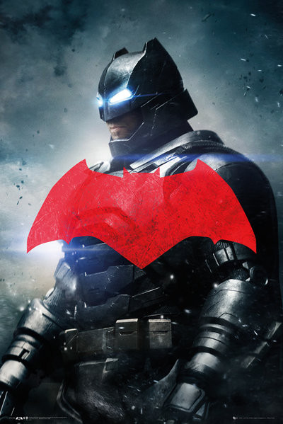 Plakát  Batman vs. Superman: Úsvit spravedlnosti - Batman Solo