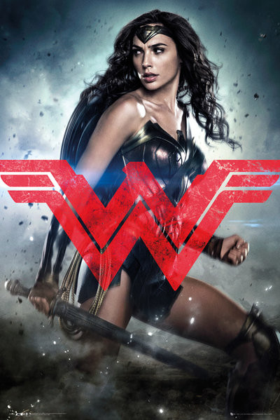 Plakát Batman vs. Superman: Úsvit spravedlnosti - Wonder Woman Solo