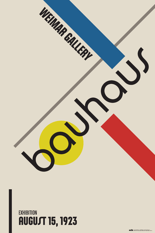 Plakát Bauhaus