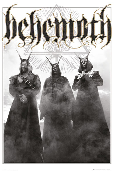 Plakat Behemonth - Trio