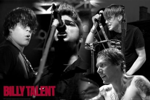 Plakat Billy Talent - live