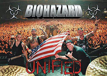 Plakat Biohazard – crowd