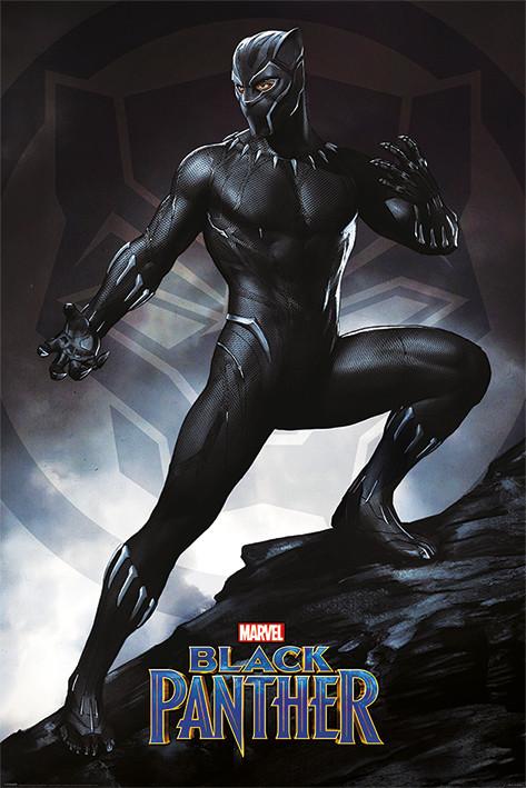 Plakát  Black Panther - Stance