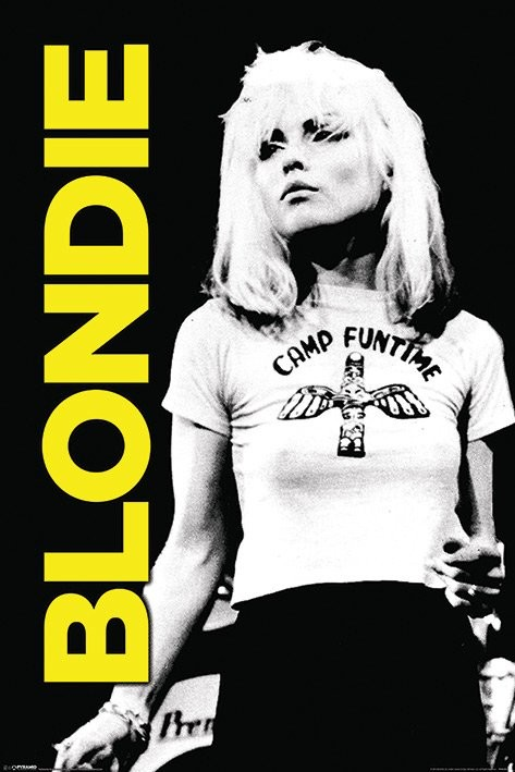 Plakát Blondie - Camp Funtime