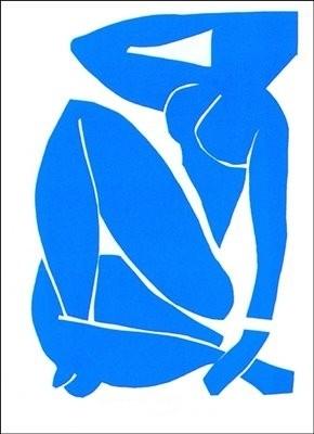 Reprodukcja Blue Nude III, 1952 - Henri Matisse