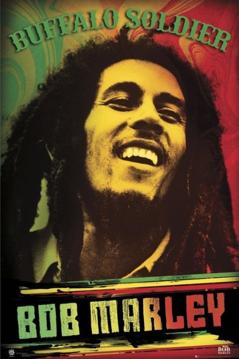 Plakat Bob Marley - buffalo