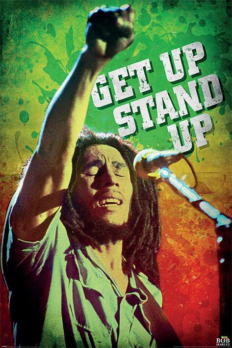 Plakát Bob Marley - Get Up Stand Up