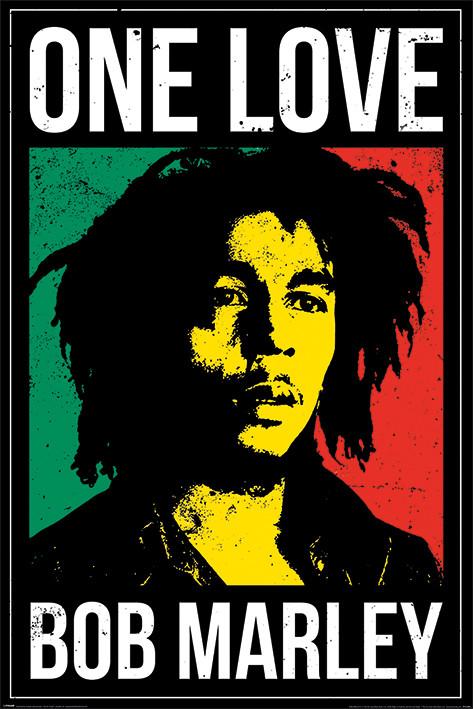 Plakát Bob Marley - One Love