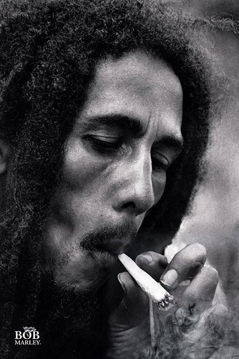 Plakat Bob Marley - Smoke