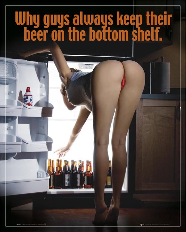Plakát Bottom shelf