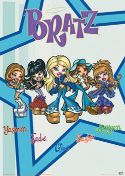 Plakát  BRATZ - pět
