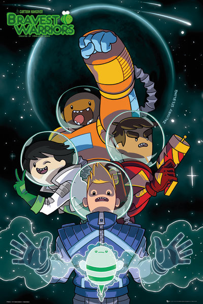 Plakat Bravest Warriors - Collage