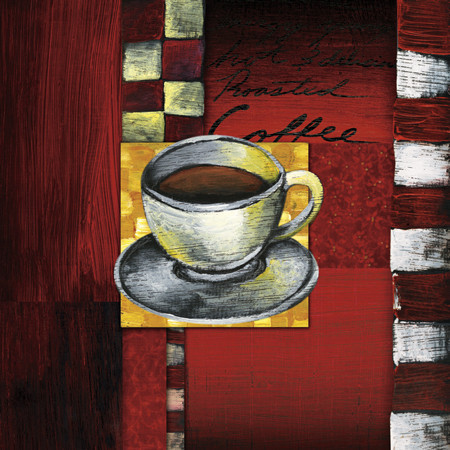 Reprodukcja BREWING COFFEE
